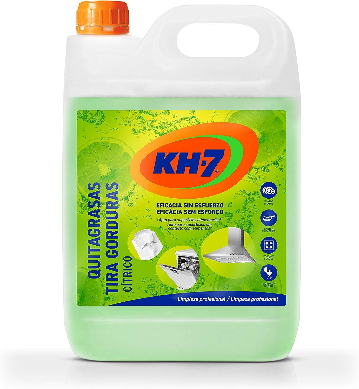 KH-7 Garrafa Quitagrasas Cítrico - 5000 ml: Amazon.es: Salud y cuidado personal