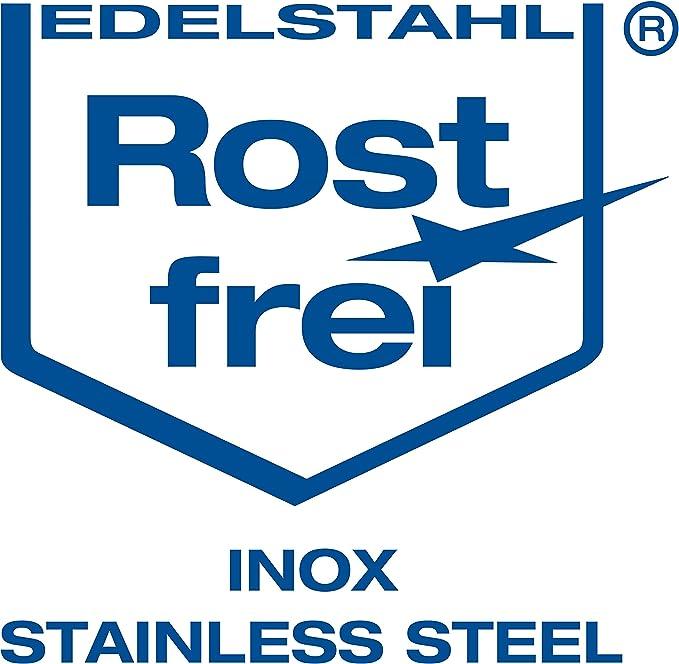 varie quantit/à da 4 mm a 19/mm di spessore anelli di trazione a U struttura robusta in acciaio inox V4A NietFullThings