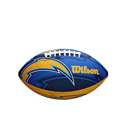 new concept 68b4f e37dd NFL Team Logo Junior Size Football - Los Angeles Chargers