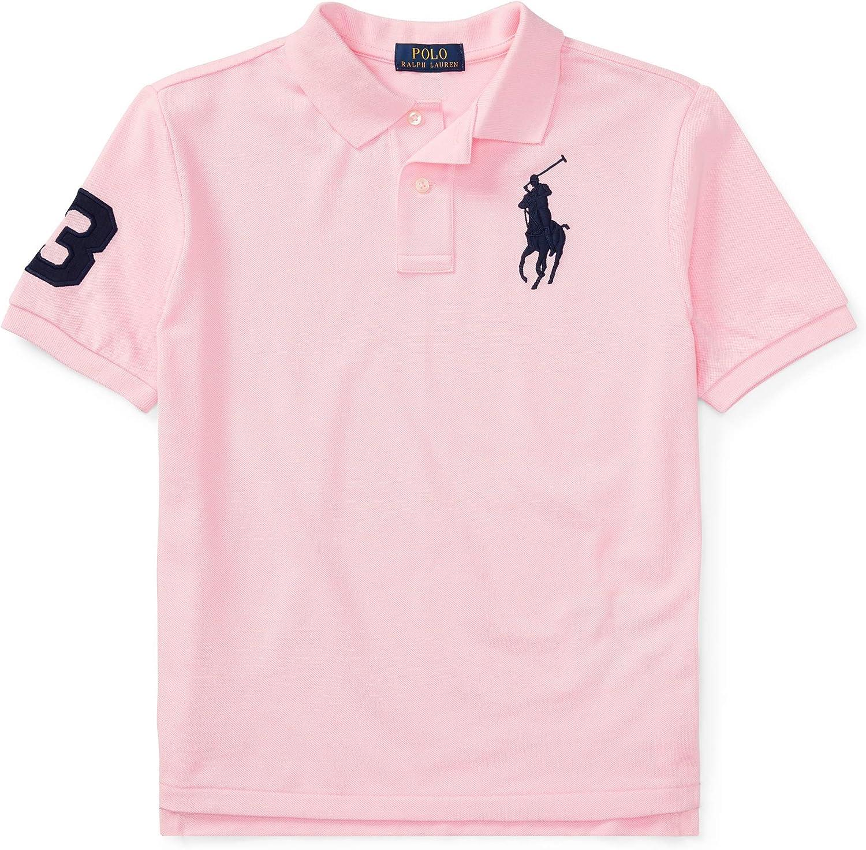 Ralph Lauren - Big Pony Polo para niños de 6-14 años - Carmel Pink ...