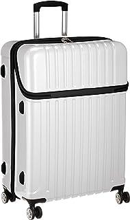 877fe5d8daa87c [アクタス] スーツケース トップス L トップオープン 83L 71.5 cm 4.6kg ホワイトカーボン