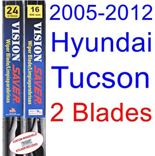 2005-2012 Hyundai Tucson Replacement Wiper Blade Set/Kit (Set of 2 Blades