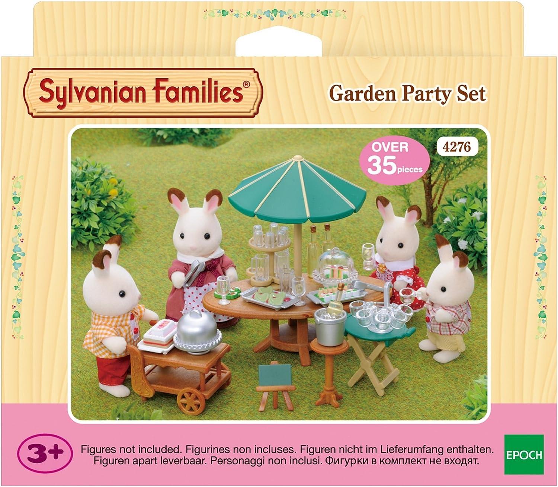 Amazon.es: SYLVANIAN FAMILIES 4276 - Juego de Fiesta de jardín: Juguetes y juegos
