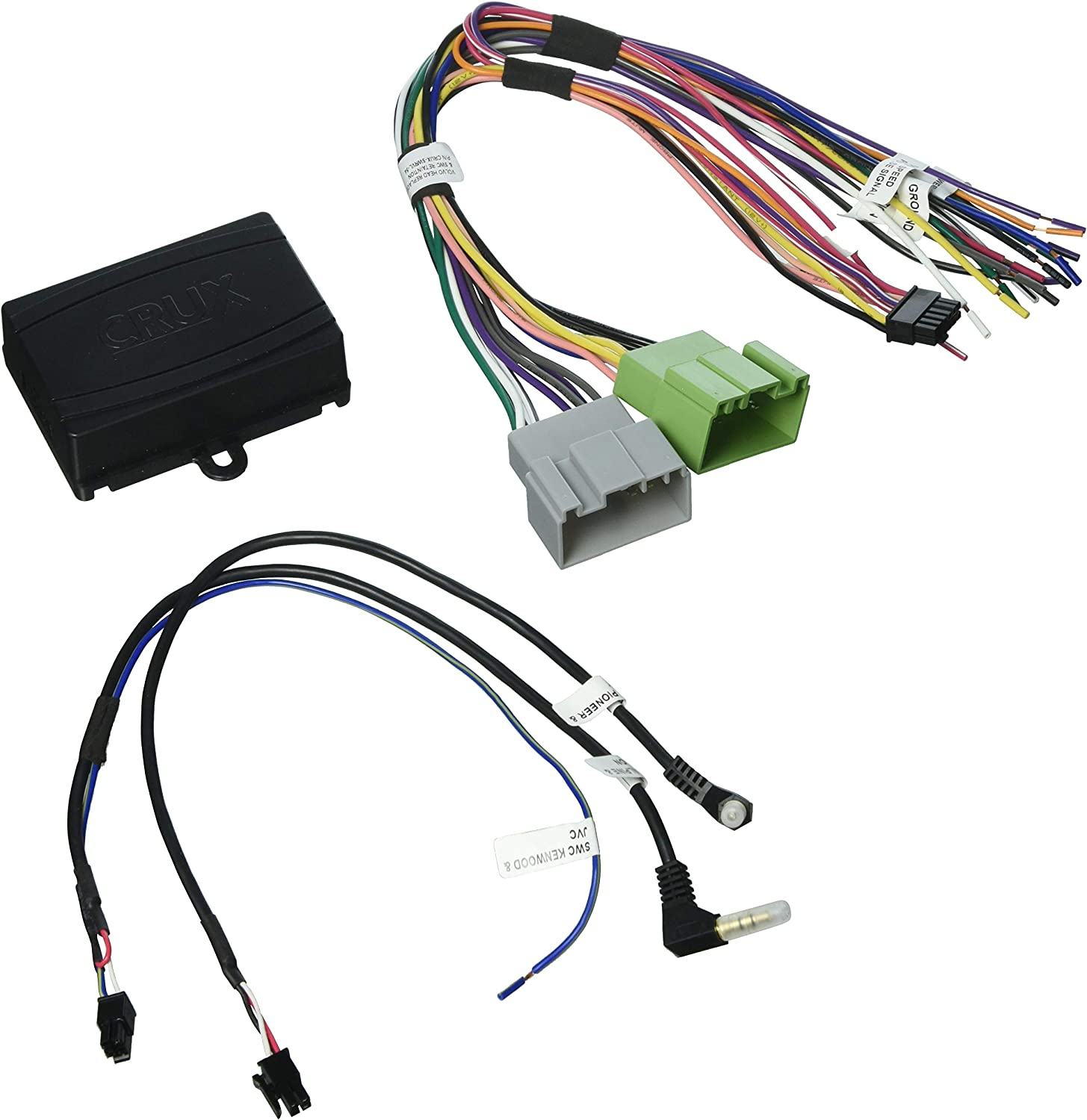 Crux USB-CHG Radio Replacement Accessories