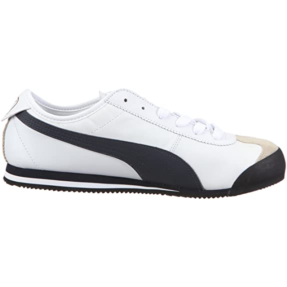 5154eb468f32 Puma 350100 12 Roma 68 Vintage Leather Mens Trainers White Size  13   Amazon.co.uk  Shoes   Bags