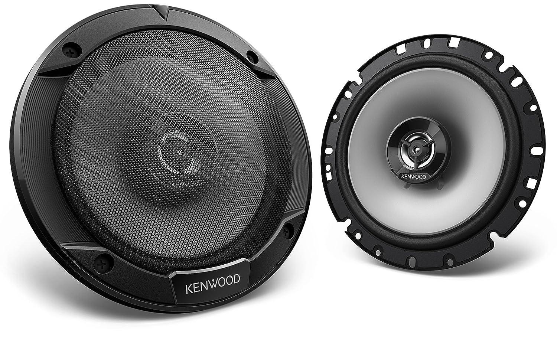 Kenwood –  Altavoces (2 Ví as, 17 cm) Negro 17cm) Negro JVCKenwood KFC-S1766