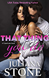 That Thing You Do (A Crystal Lake Novel Book 2)