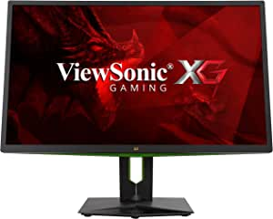 ViewSonic XG2703-GS 27 Inch 165Hz IPS 1440p G-Sync Gaming Monitor with HDMI and DisplayPort