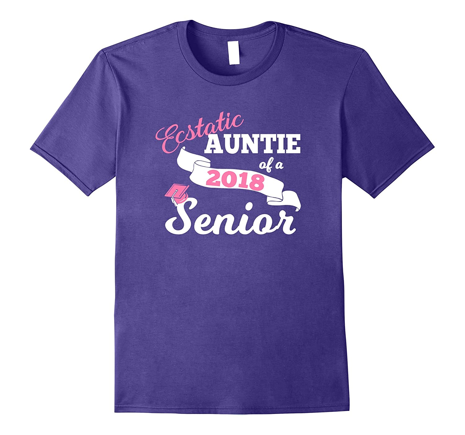 Auntie of 2018 Senior Shirt-ANZ