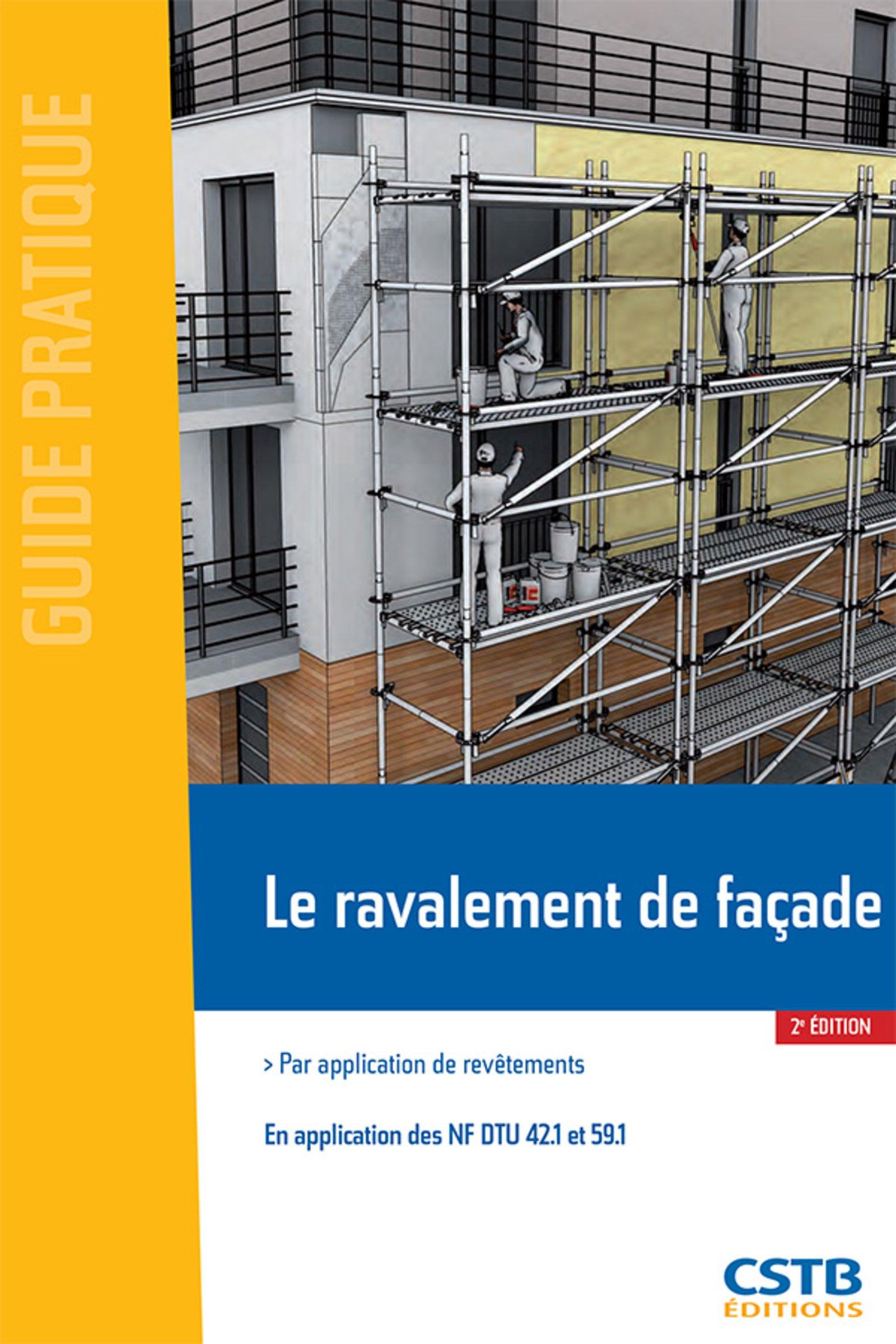 Le ravalement de façade par application de revêtement