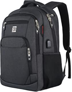 58286956b61 Laptop Backpack,Business Travel Anti Theft Slim Durable Laptops Backpack  with USB Charging Port,