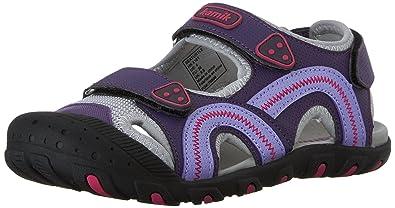 Kamik Jungen Seaturtle Geschlossene Sandalen, Violett (Purple-Violet), 39 EU