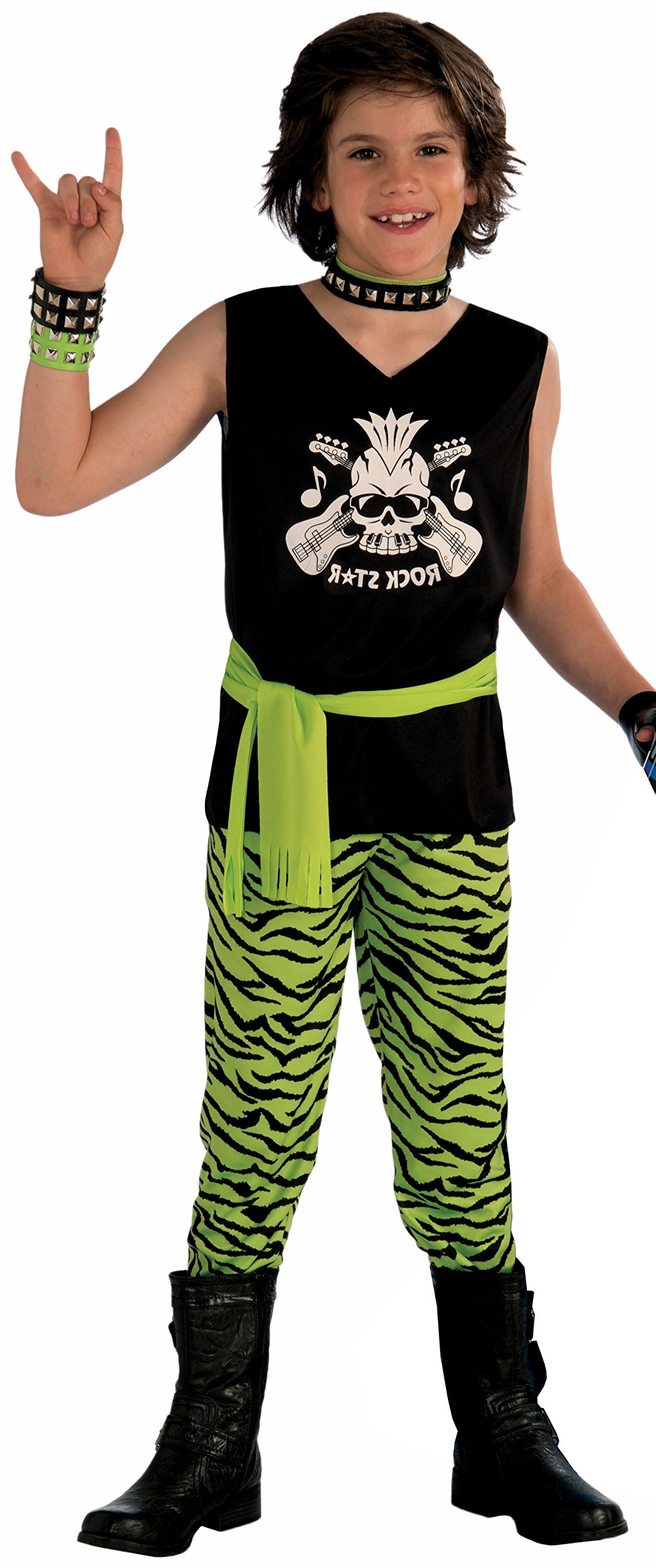 Forum Novelties Rock Star Dude Child Costume, Medium