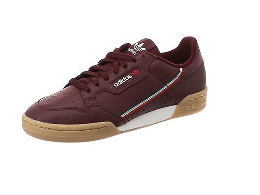 new style ae9b3 1ab11 adidas Continental 80 Trainers White 10 UK Amazon.co.uk Shoe