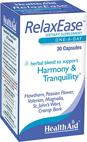 RelaxEase, Herbal Blend to Support Harmony and Tranquility