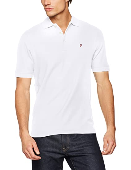 Cove, Polo Homme, Blanc (White 104), X-Large (Taille du Fabricant: X Large)Farah