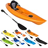 Bluewave Dart Sit On Top Touring Kayak - High Speed Racing - Deluxe Seat & Paddle Package