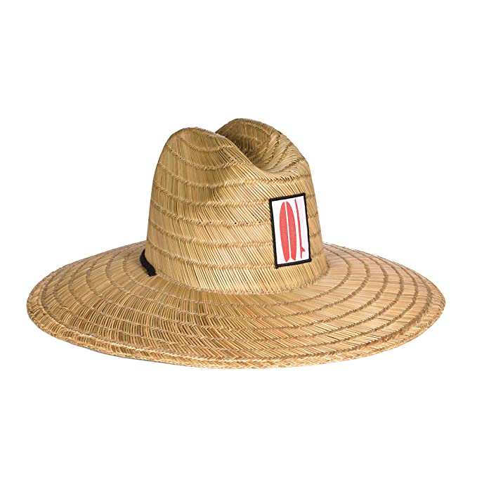 11659956d87637 Image Unavailable. Image not available for. Color: Surf Outfitter Men's  Kahuna Straw Lifeguard Hat