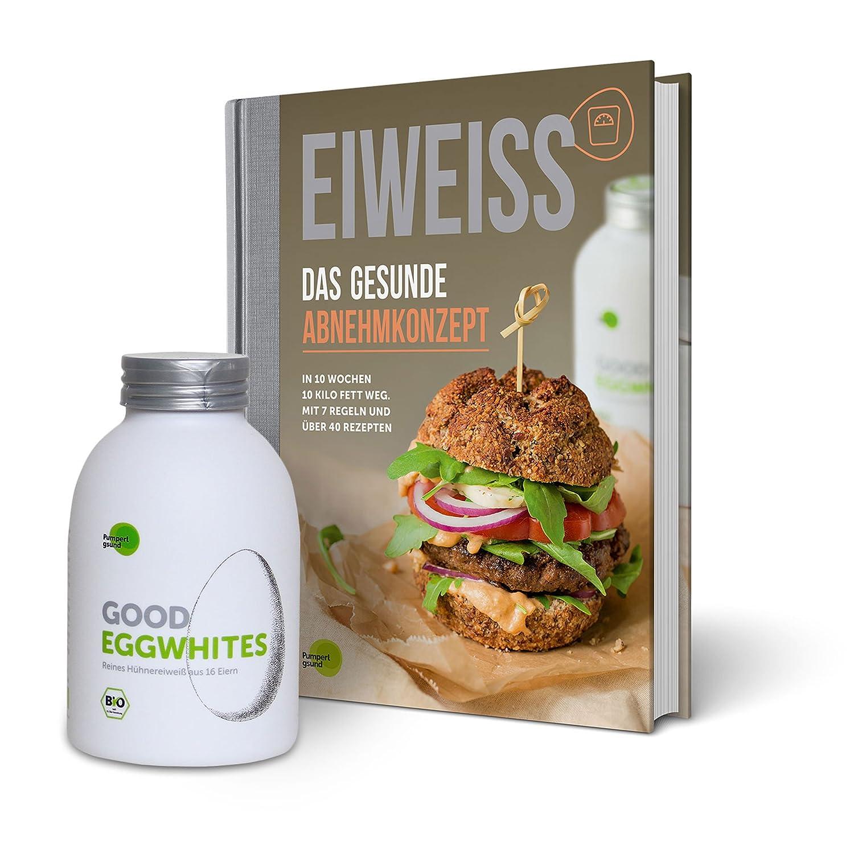 Eiweiß-Paket Gesundes Abnehmen: 1 Flasche Good Eggwhites (Bio-Eiklar ...
