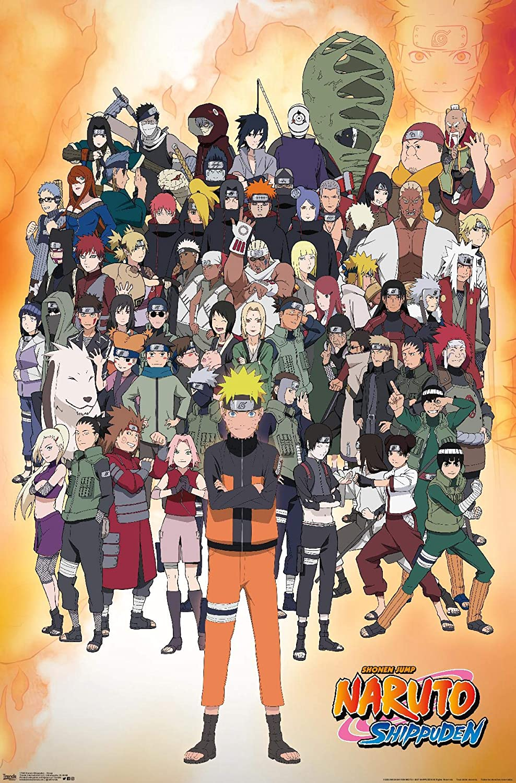 Official ORIGINAL MOVIE POSTER PRINT PREMIUM NEW DESIGN,Japan Anime NARUTO