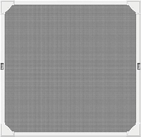 Schellenberg 50746 Mosquitera para ventana magnetica, montaje rápido sin taladrar, blanca, con perfiles de plástico muy flexibles, 100 x 120 cm: Amazon.es: Bricolaje y herramientas