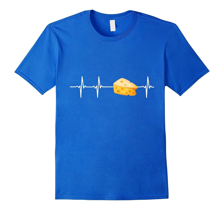 Cheese In My Heartbeat T-Shirt-Teeae