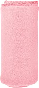 Micro World Cozy 50 X 60 Fleece Throw Blanket -Pink