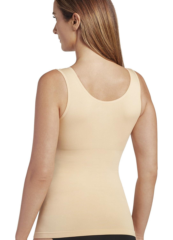 fd467196bd4ae Amazon.com  Jockey Women s Shapewear Slimmers Seamfree Tank  Clothing