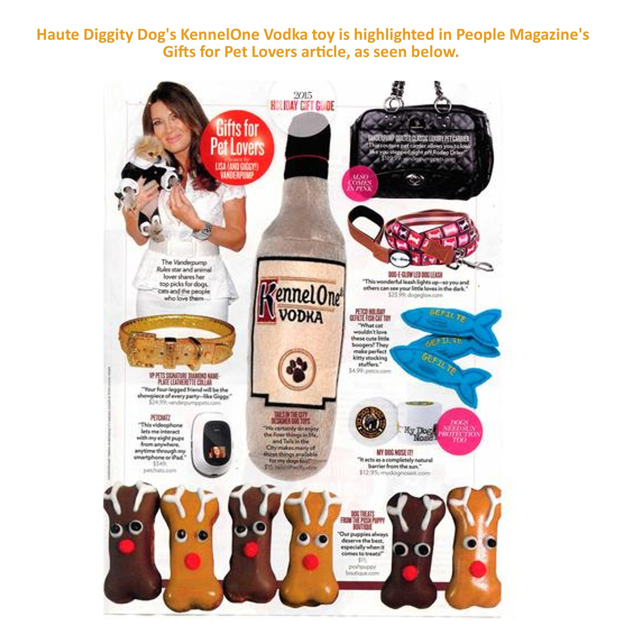 Haute Diggity Dog Muttini Bar Collection   Unique Squeaky Plush Dog Toys – Dogmestic and Impawted (LickCroix Barkling Water, Large)