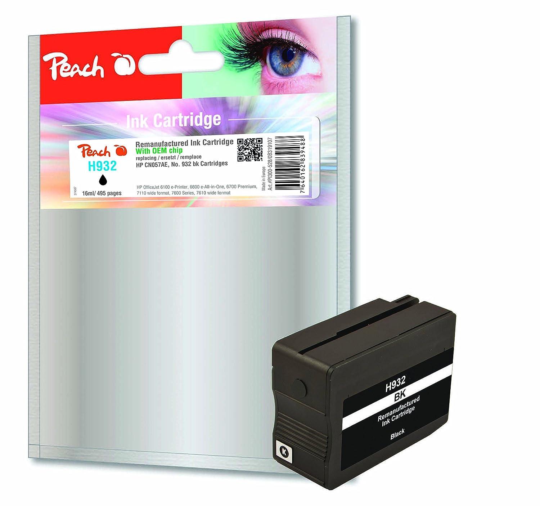 Peach 319107 cartucho de tinta - Cartucho de tinta para impresoras ...