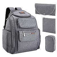 Deals on LOOTUS Diaper Bag Backpack Waterproof