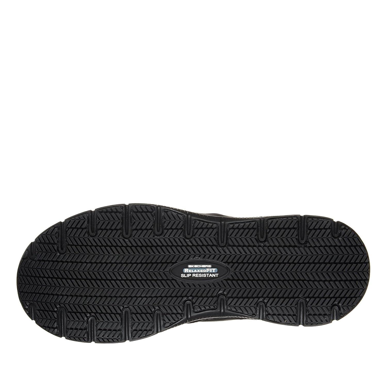 SKECHERS Work Shoes - Flex Advantage SR BRONWOOD 77071EC Black: Amazon.es: Zapatos y complementos