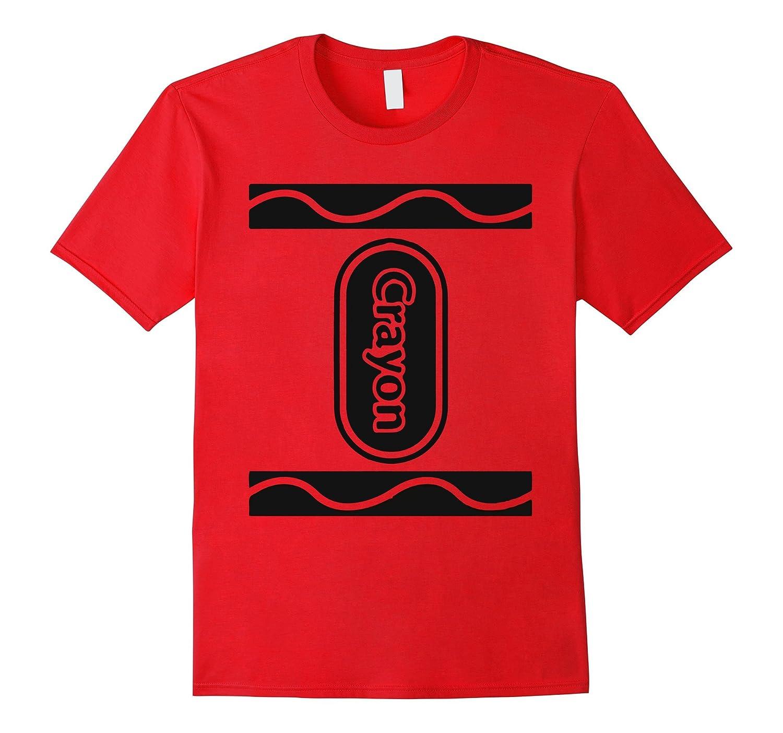 5 Colors Crayon Box Group Costume Halloween T-Shirt-T-Shirt