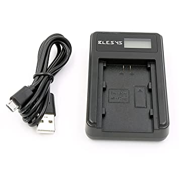 BLESYS Cargador para Sony NP-FZ100 Batería Pantalla LCD Alimentado por un Cargador de Pared USB, Cargador automático, Banco de energía, reemplazo de ...