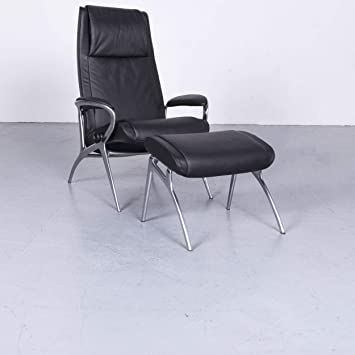 Stressless You James Designer Leder Sessel Schwarz Echtleder ...