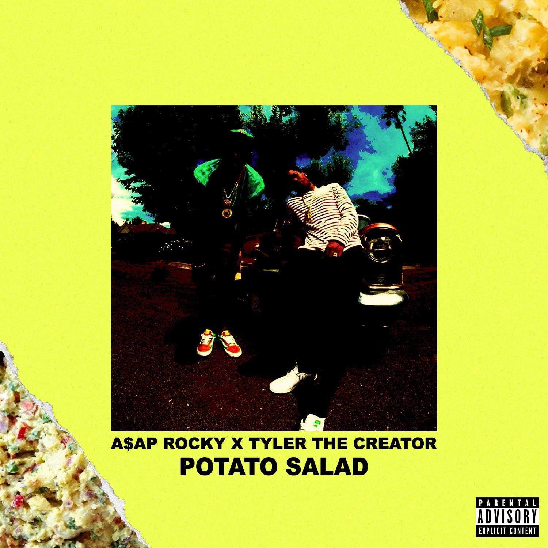 Wetheblueprint Asap Rocky X Tyler The Creator Potato Salad Custom Single 12 X 12 Luxury Art Print Amazon Ca Home Kitchen