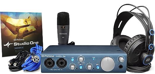 20 opinioni per Presonus AudioBox iTwo Studio Bundle Scheda Audio USB, DAW, Microfono, Cuffie e