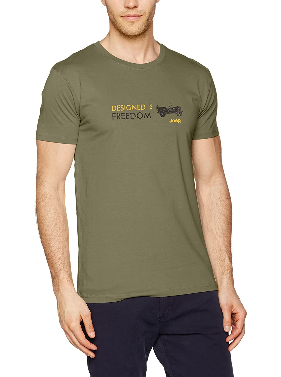 Jeep - Camiseta Willys J7S - Designed for Freedom J7S Willys - Deep Lichen - XL 50a5e1