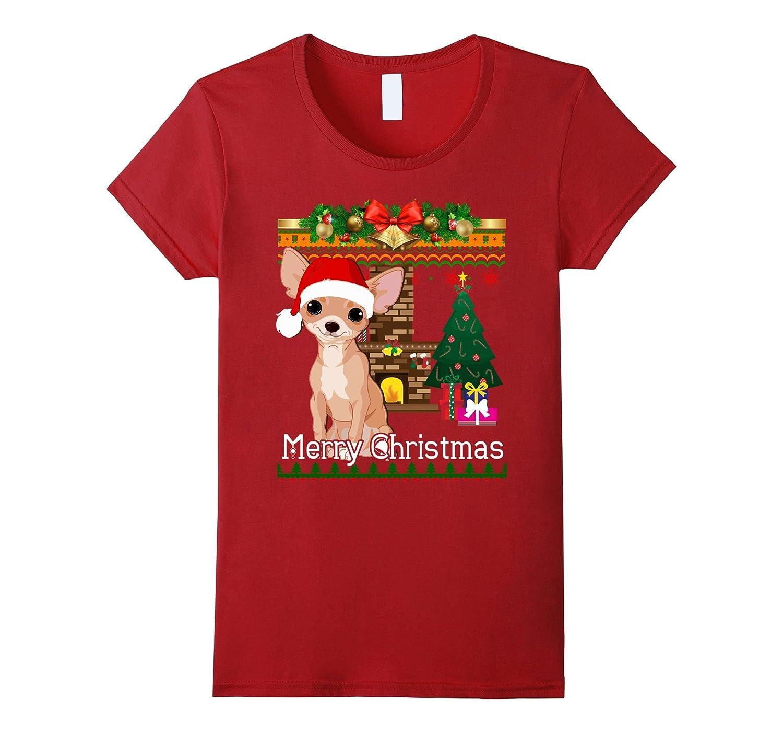 Ugly Christmas Sweater CHIHUAHUA T-Shirt Funny Dog Shirt