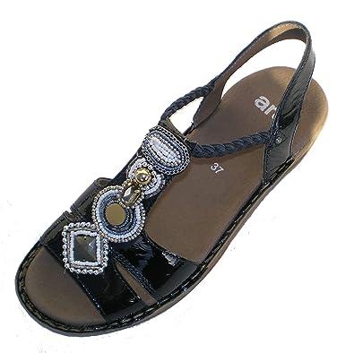Ara 12 37275 Hawaii Damen Sandale Groesse EU 42