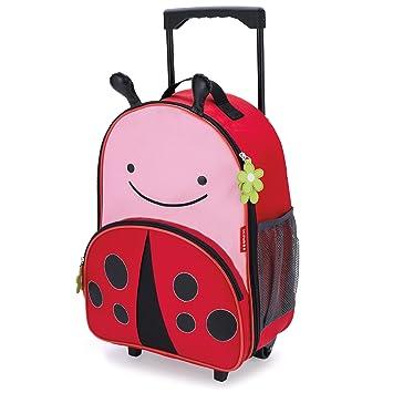 Amazon.com: Skip Hop Zoo Little Kid Luggage, Ladybug: Baby