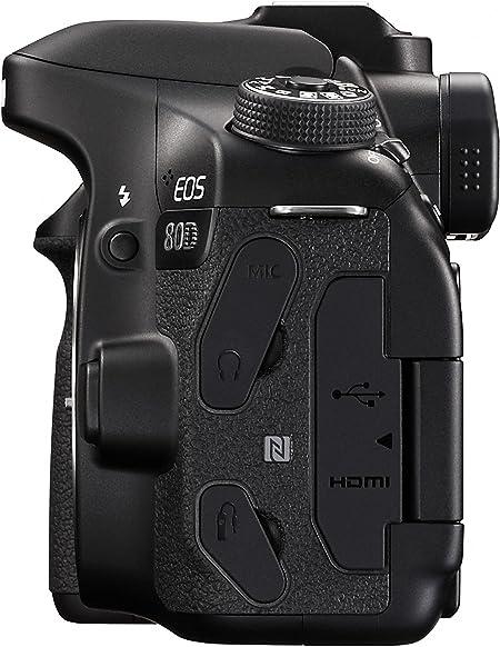 Canon EOS 80D Cuerpo de la cámara SLR 24.2MP CMOS 6000 x ...