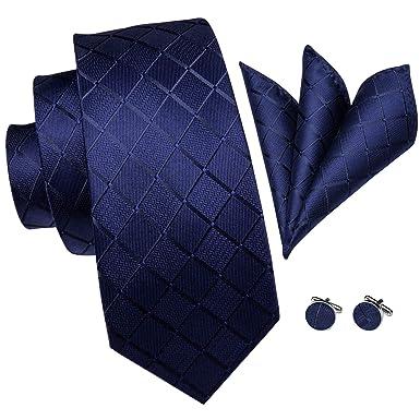 Hi-Tie - Corbata de seda para hombre (160 cm, incluye caja de ...