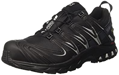 Salomon Xa Pro 3D GTX, Women Trail Running Shoes, Black (Black/Asphalt
