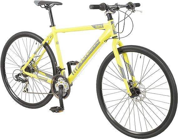 Falcon Traffic Boys 700C Performance Hybrid Bike Yellow: Amazon.es ...