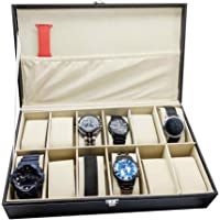 House of Quirk Watch Box 12 Slots (Black)