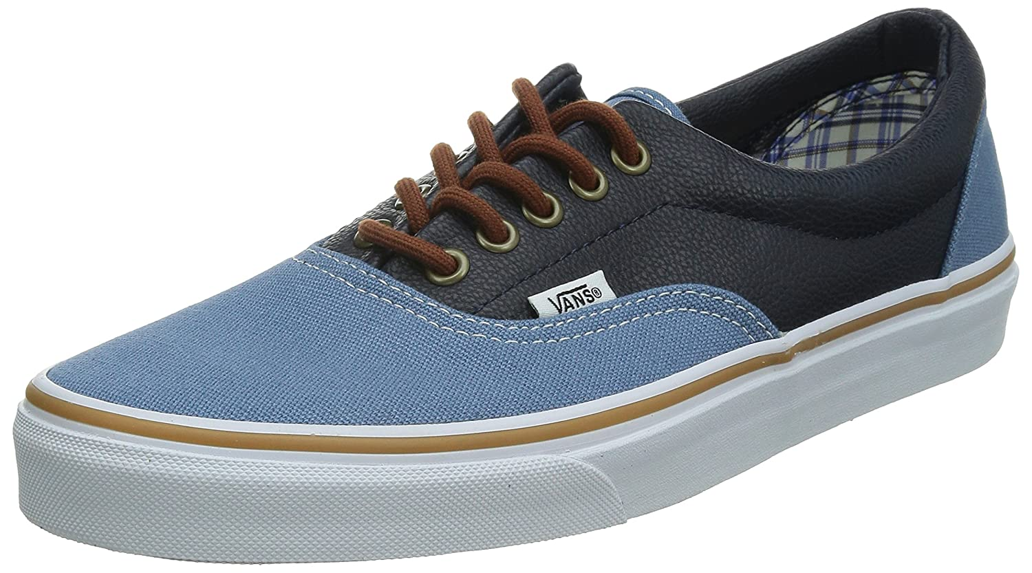 Vans Men's Era B00PMMYH6Y M8.5/W10|Grey/Navy