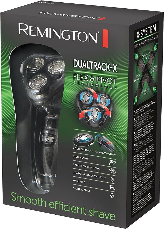Remington R4150 - Afeitadora pivotante de 3 cabezales, inalámbrica ...