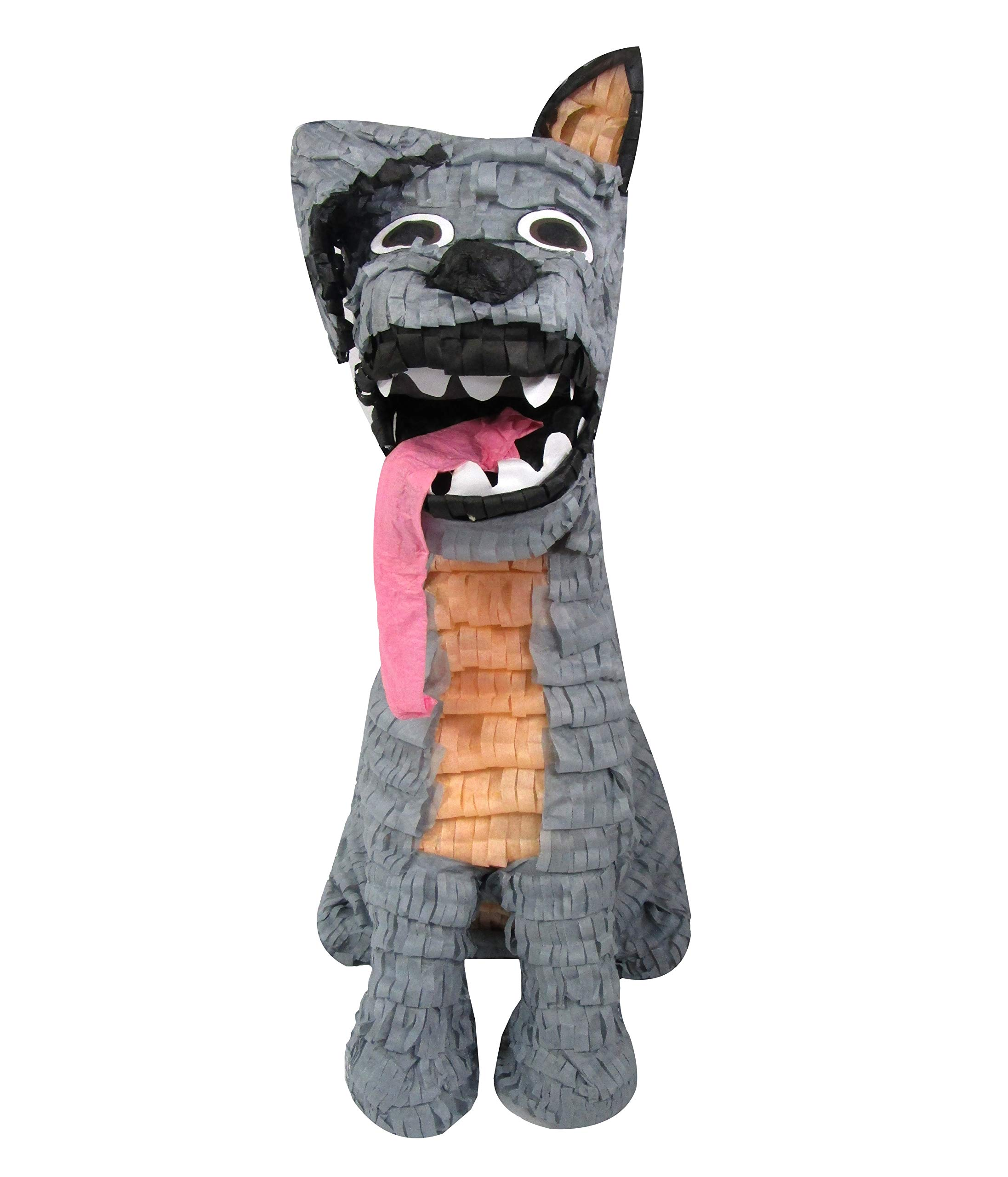 Spirited Dog Pinata, Party Game, Decoration and Photo Prop for Kids Birthdays or Day of The Dead