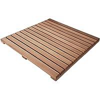 Loseta rígida en madera de teca tratada